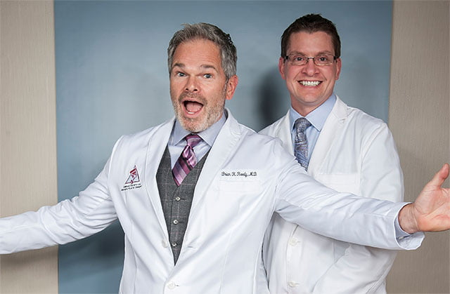 Dr. Reedy and Dr. Lindsay